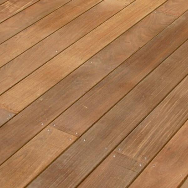 Terrasse bois Cumaru 21 x 145 x 950 - 1250 - 1550 mm