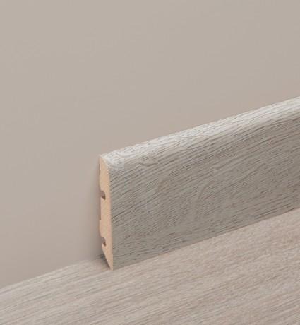 AC Bois   plinthe plaquée couleur stratifié, 80mm