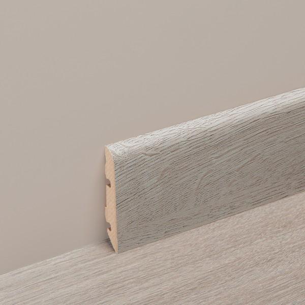 Plinthe assortie stratifié Naturals arrondie - H  80 mm
