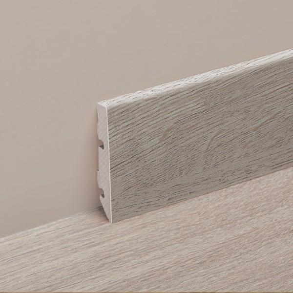 Plinthe assortie lames vinyle Pure carrée - H 60 mm