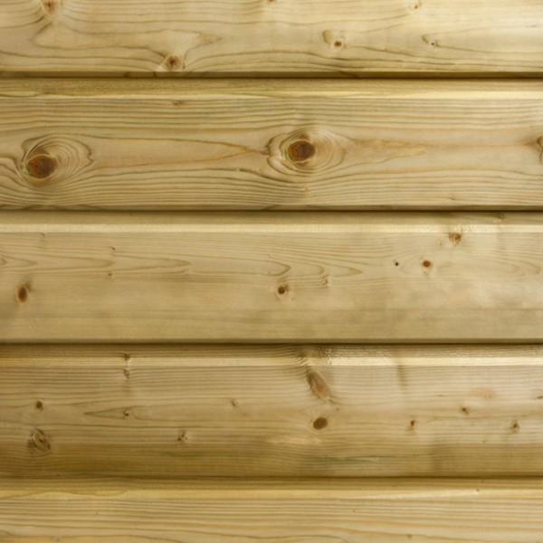 Bardage bois - Sapin traité cl3 vert 21 x 132 mm