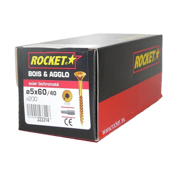 Vis rocket 5 x 60 mm