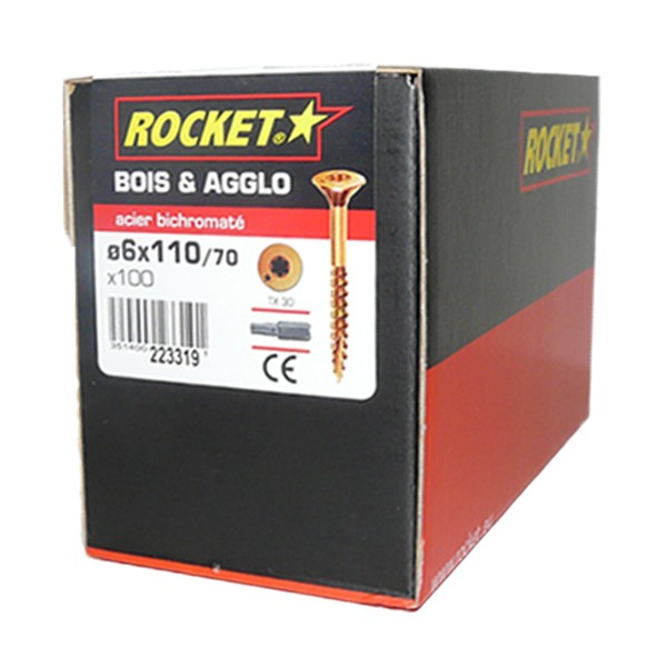 Vis rocket 6 x 110 mm