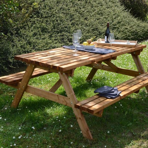 Table de Pique nique - bois