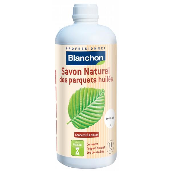 Savon naturel parquet huilé 1L - Blanchon