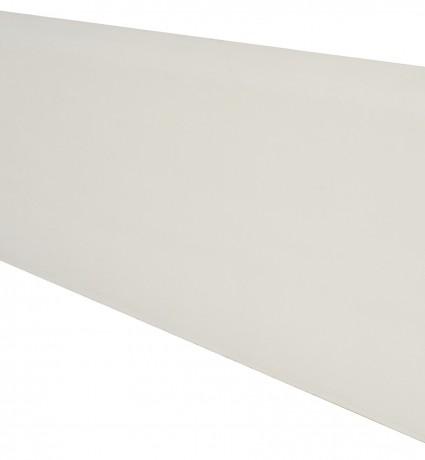 plinthe plaquée blanc 80 mm arrondie
